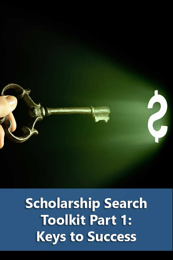 7 Keys to a successful scholarship search. Essential tips on how to find scholarships and a review of scholarship search website sites.