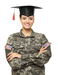 Femaile ROTC graduate representing what you need to know about ROTC scholarships