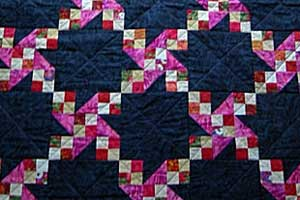 quilt representing students looking at college essay examples