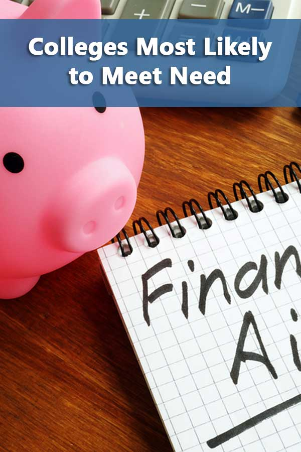 Colleges Most Likely to Meet Financial Need List