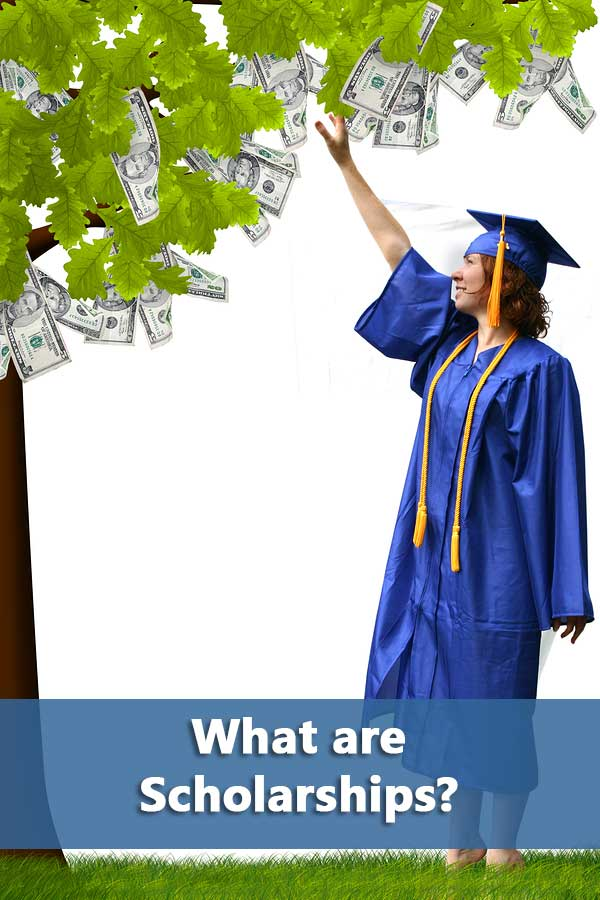 What are scholarships?