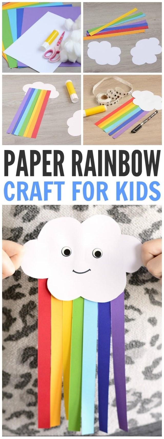 Adorable-Paper-Rainbow-Kid-Craft