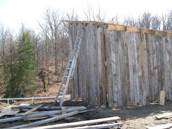 DIY 3 Sided Horse Shelter