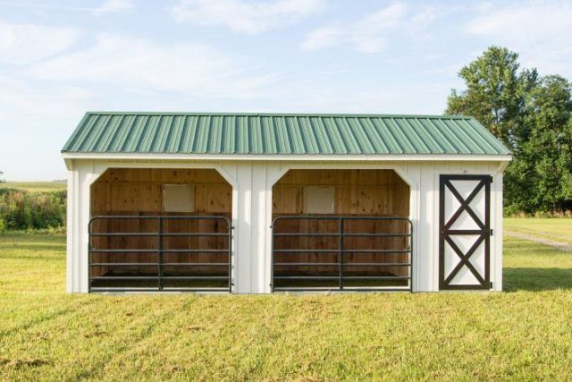 Horse shelter plans