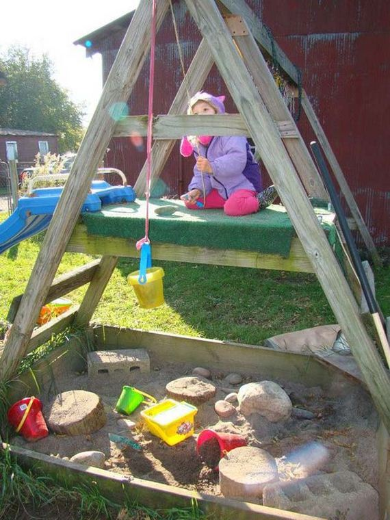 How To Turn The Backyard Into Fun And Cool Play Space For