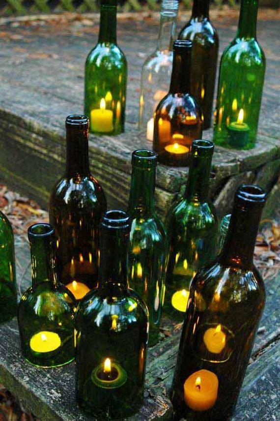 Diy Wine Bottle Outdoor Decorating Ideas Diycraftsguru