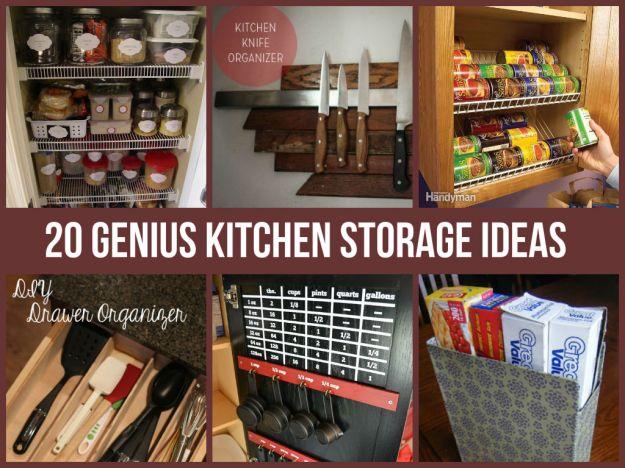 amazing kitchen storage ideas - diycraftsguru