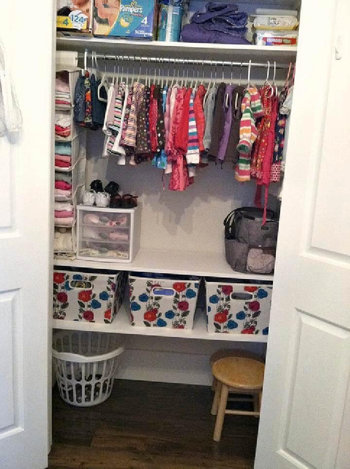 Ways Organize Clothes Without Closet