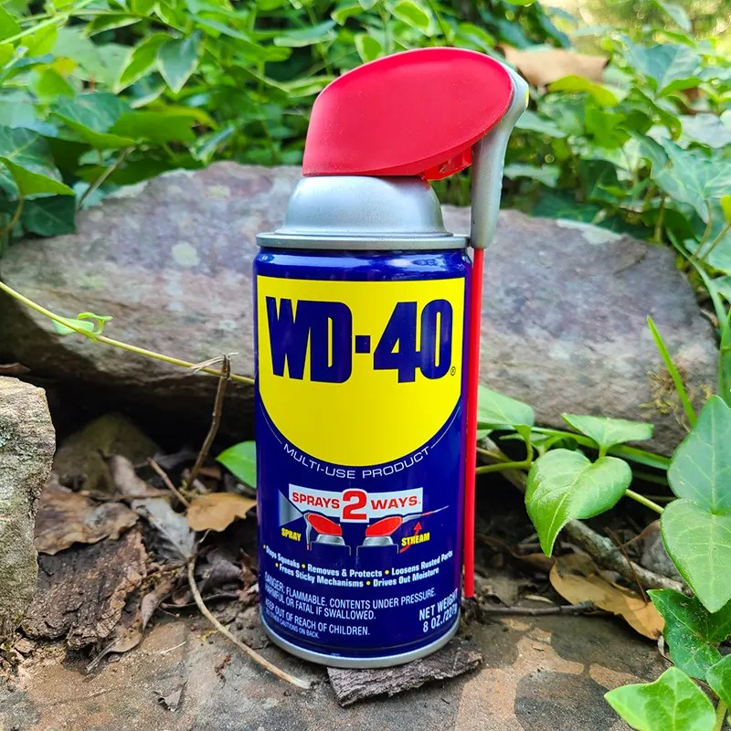 Can of WD-40.
