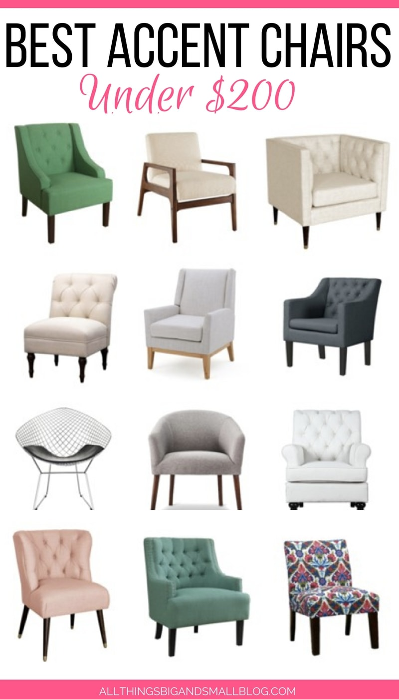 Accent Chairs Under 200 Dollars