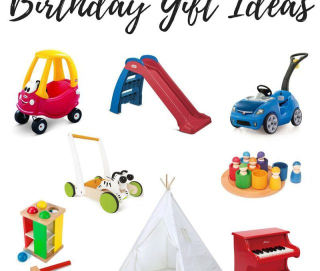 Best Toys For  Yr Old Picture Collage Including Birthday Gift Ideas For One Year Olds