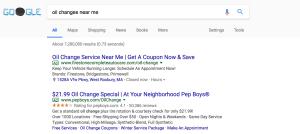 non brand google search
