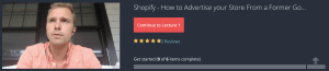 Advertise Shopify Store