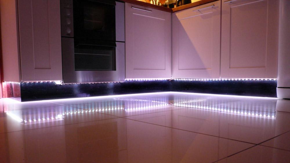 Installing Plinth Lights How To Fit Kitchen Unit Lights DIY Doctor