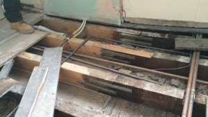 Strengthening Timber Beams And Joists Supporting Beams