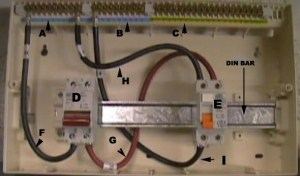 Installing a Consumer Unit   Instructions on Wiring a
