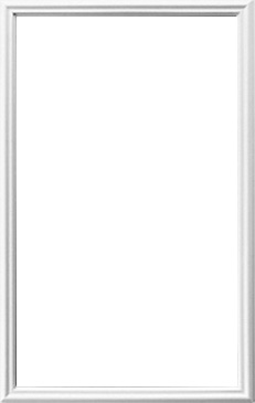 Universal White 22 X 36 1 Lite Frame