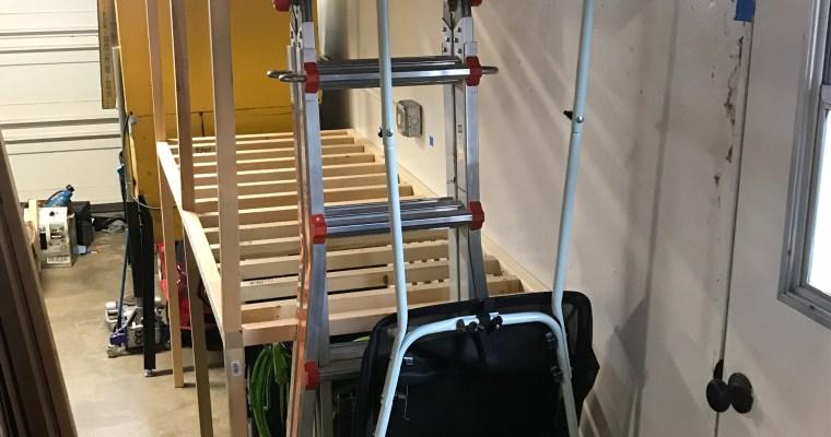 Sturdy Clutter-Free Garage Shelving