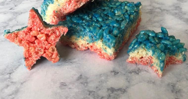 Red, White & Blue Star Rice Krispies