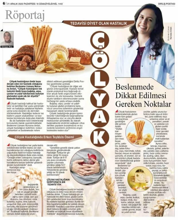 Sağlıklı ve Dengeli Beslenme Yazılarım, Bursa Uzman Diyetisyen & Fitoterapist Nursena Ardalı
