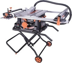 Image of the table saw, the Evolution RAGE5-S