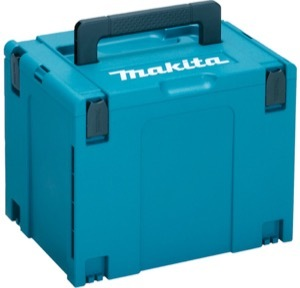 The MAKPAC case that comes with the Makita DSP600ZJ plunge saw