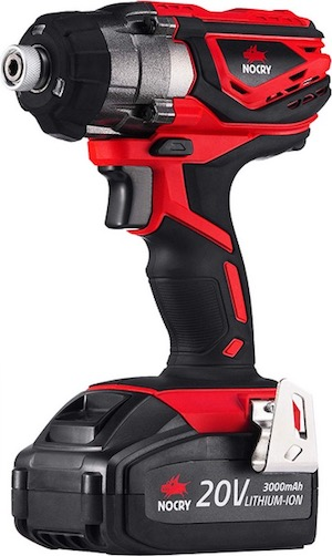 Image of the impact driver, NoCry NID-158NM