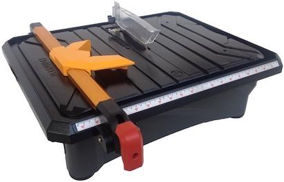 The Plasplugs DWW750 tile cutter