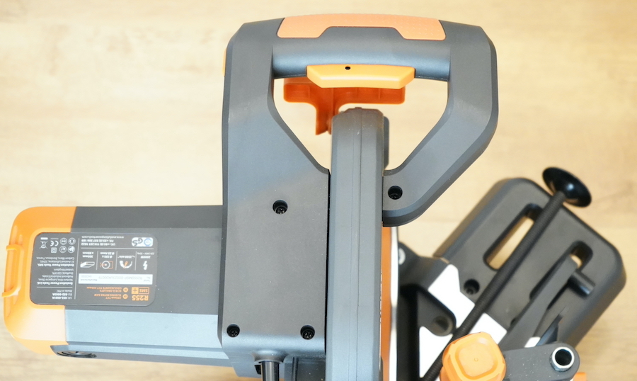 The R255SMS Mitre Saw Handle with Integrated Power Switch