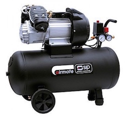 Image of the portable air compressor, the SIP 06242 Airmate TN3.0/50-D