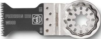 Oscillating tool wood saw blade