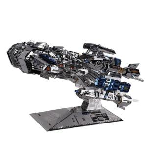 3D Stainless Steel Spacecraft Puzzle - DIY-Geek