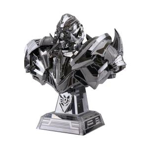 3D Stainless Steel Megatron Puzzle - DIY-Geek