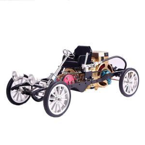Single Cylinder Engine Car DIY Model - DIY-Geek