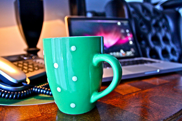 Coffee and Freelancing