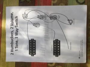 Wiring diagram for Flying V  DIY Guitars
