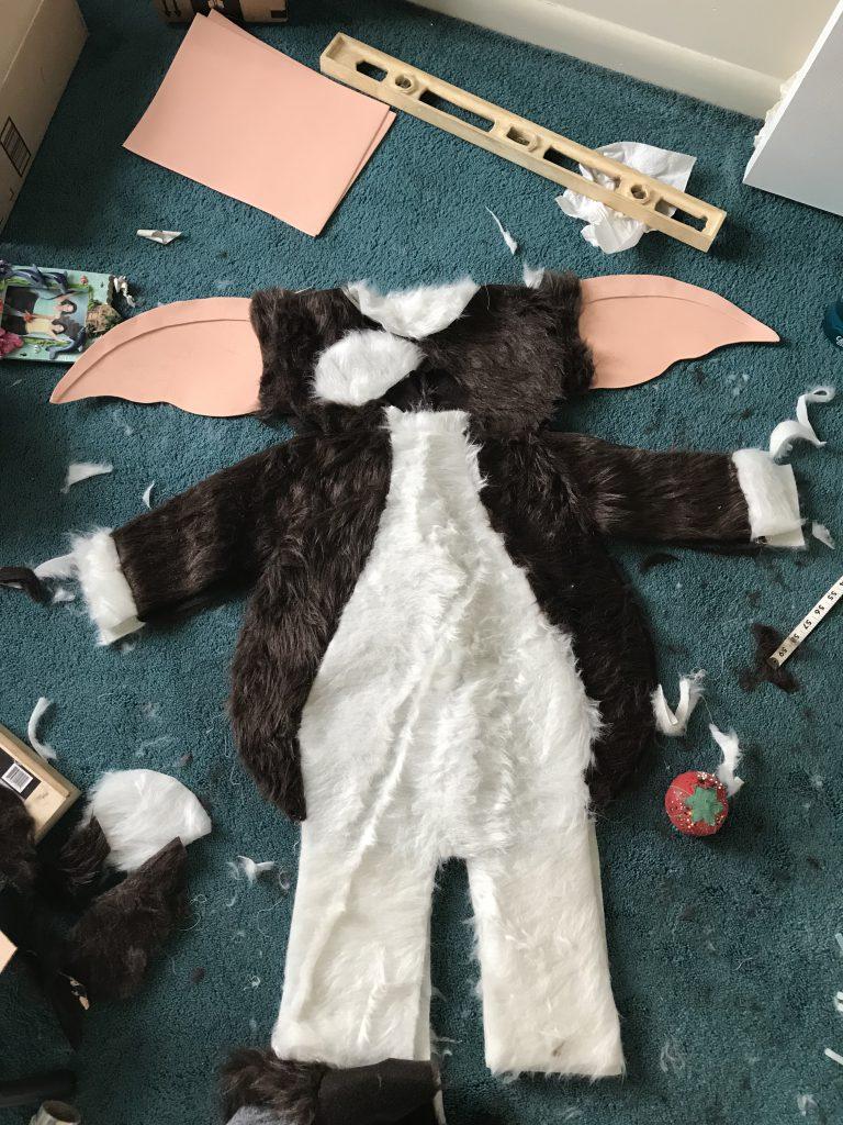 gizmo halloween costume is coming to life!