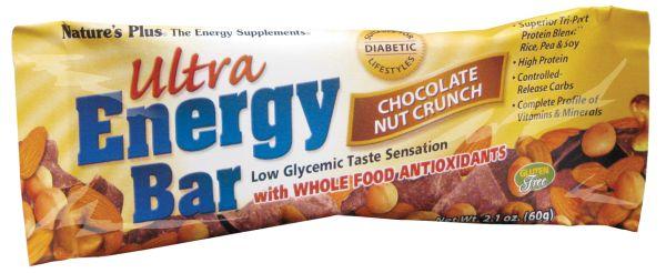 Nature's Plus Ultra Energy Bar - Chocolate Nut Crunch