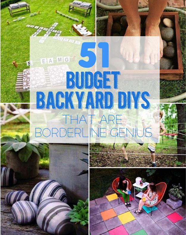 Diy Backyard On A Budget Pu81 Roccommunity