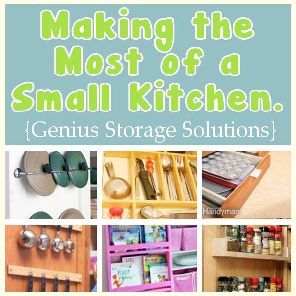 making the most of a small kitchen - ingenious storage ideas