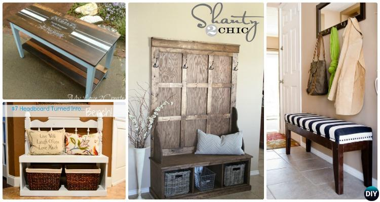 20 Best Entryway Bench Diy Ideas Projects Picture