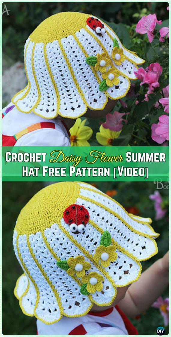 Crochet Baby Summer Hat Tutorial Find Your World