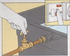 how to drain a central heating system 1