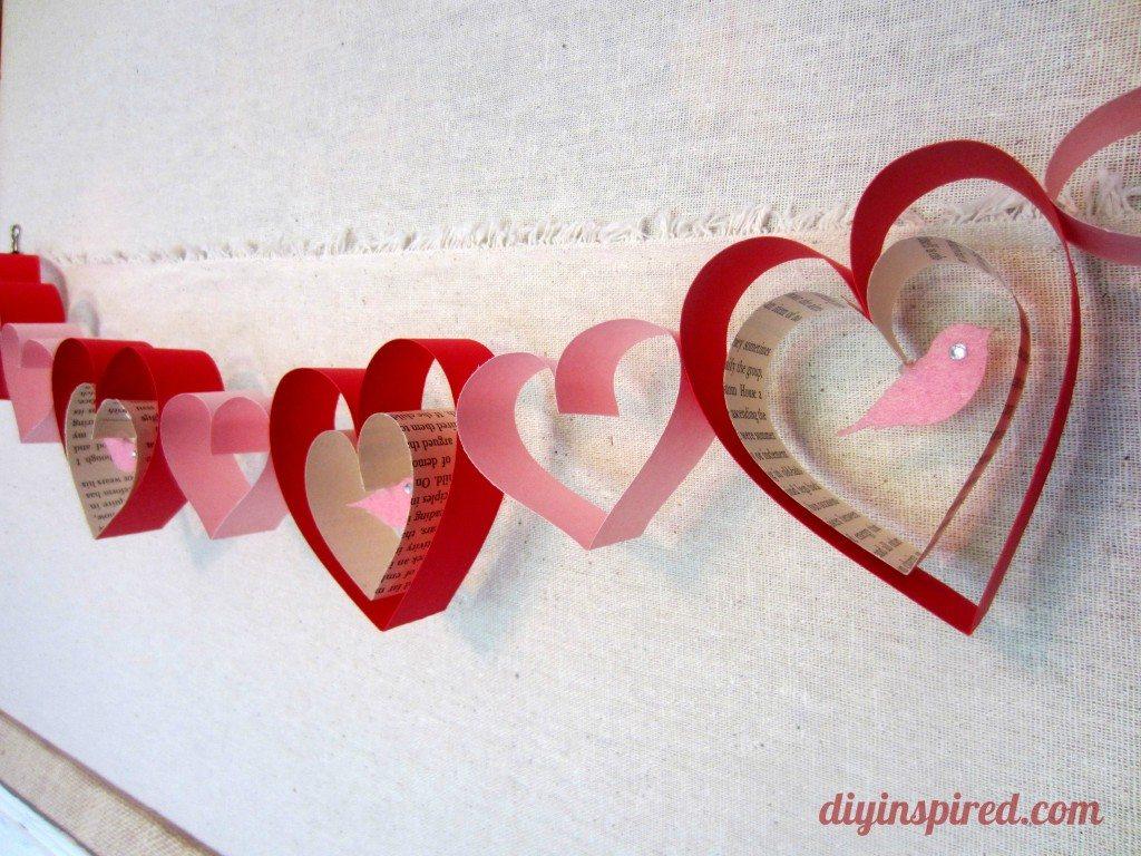 Valentines Day Craft Diy Garland