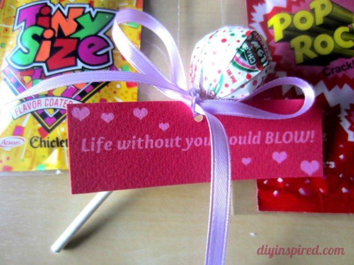 Valentine Candy Free Printable 3