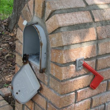 How to Fix a Mailbox Door