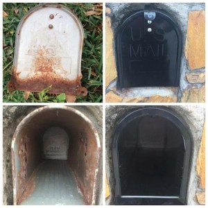 How to Replace a Mailbox in a Brick Enclosure