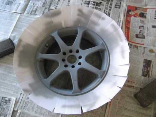 Painting Your Own Rims At Home