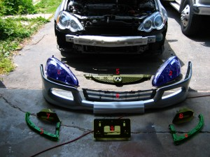 2005 RSX Front End Conversion | Acura RSX