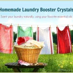 Homemade Laundry Booster Natural Laundry Crystals